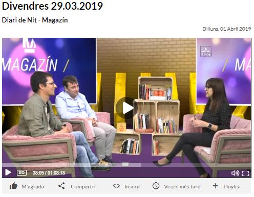 TV Lleida - Xavi Amat